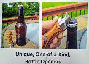 stainless bottle opener