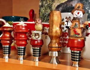 holiday bottle stoppers